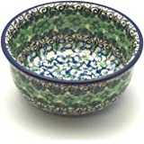Polish Pottery Bowl - Ice Cream - Kiwi