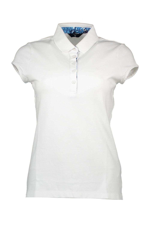 Gant 1601.401416 Polo con Las Mangas Cortas Mujer Blanco 110 XL ...