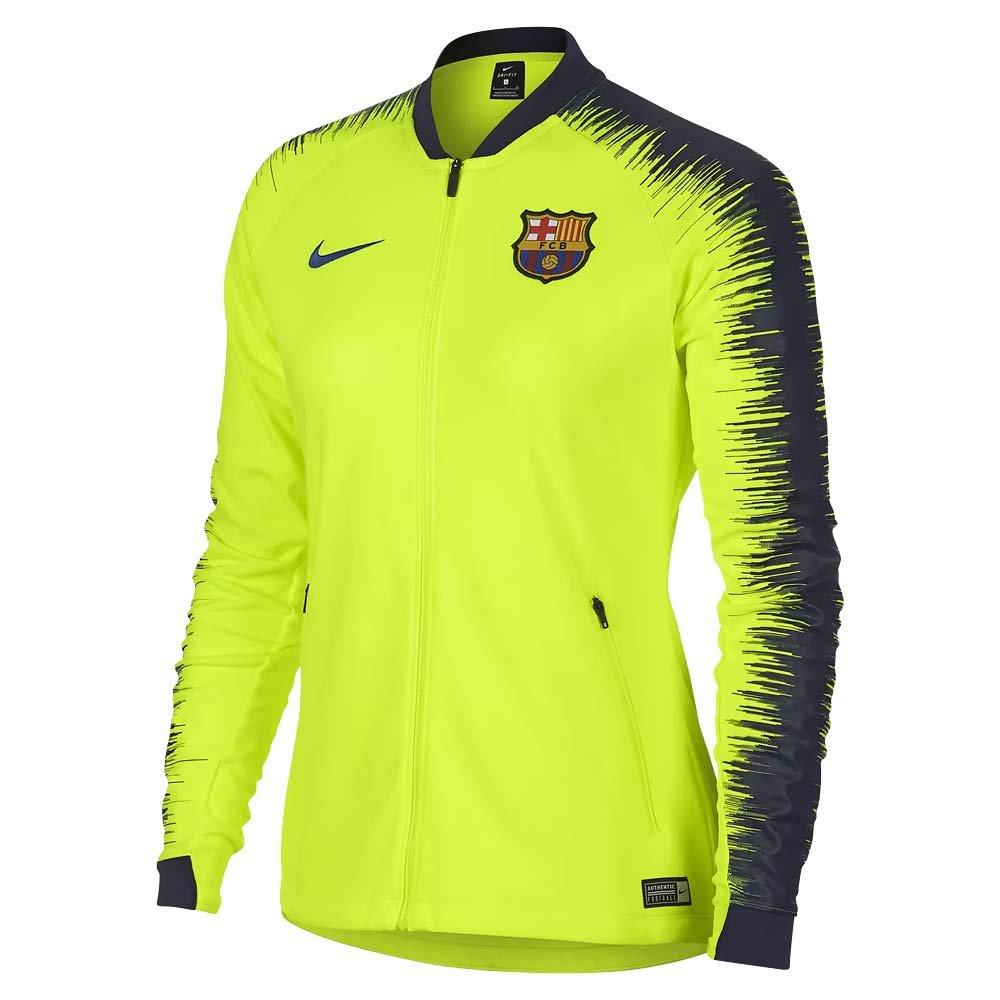 06ce1d7bd Nike 2018-2019 Barcelona Authentic Franchise Jacket (Volt) - Womens