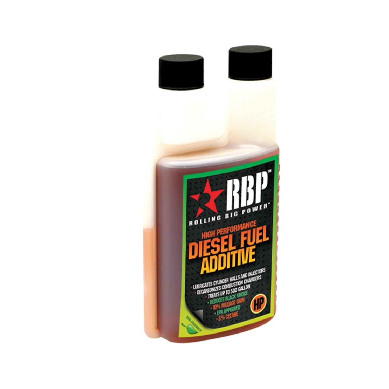 RBP Performance RBP-80001HP High Performance Diesel Fuel Additive For Diesel Vehicles Only w/Cetane 16 oz. Treats Up To 500 Gallons High Performance Diesel Fuel Additive by RBP Performance