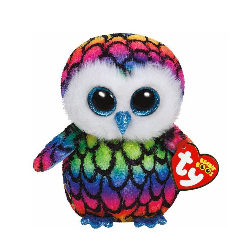 Amazon.com  Ty Beanie Boos Aria - Owl (Claire s Exclusive)  Toys   Games 092ab4e0d385