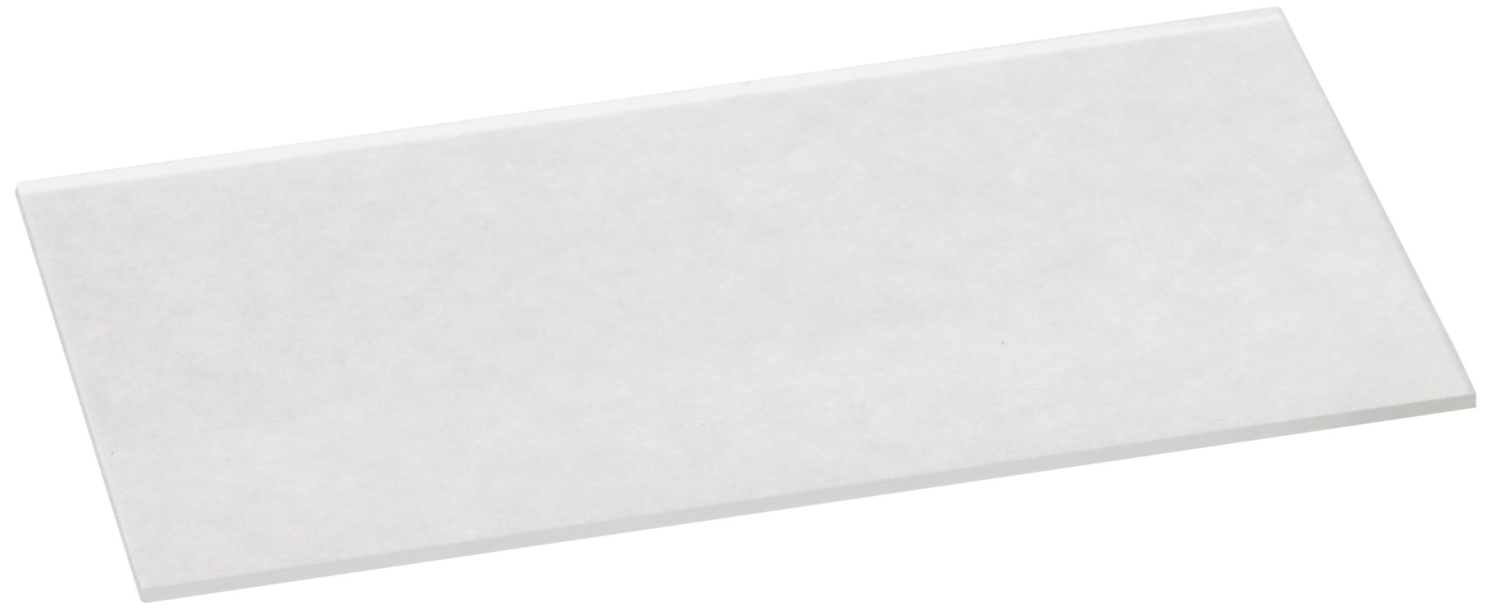 Corning 2947-75X25 Soda Lime Glass Plain Microscope Slide, 75mm Length x 25mm Width x 0.90-1.10mm Thick (20 Boxes of Approx. 72 each)