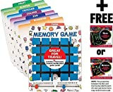 Travel Memory Game + FREE Melissa & Doug Scratch Art Mini-Pad Bundle [20909]