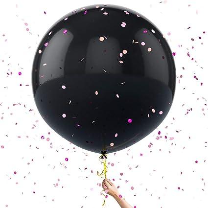 Amazon.com: WeePrinces Juego de globos para bebés con diseño ...