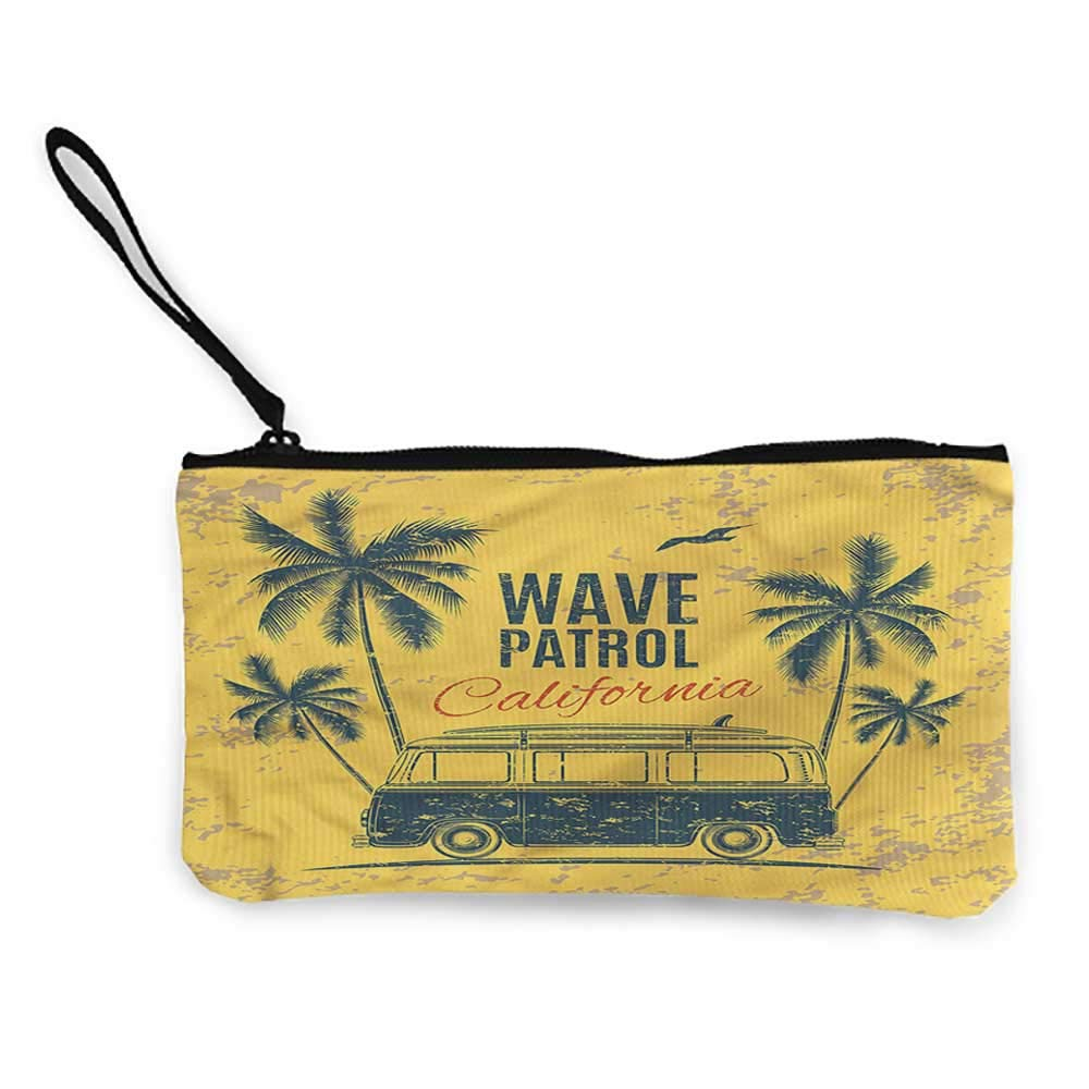 Coin Bag SurfPalm Trees...
