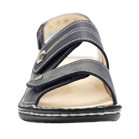 83701cc954 FinnComfort MILOS 2560274100 Donna Sandali: Amazon.it: Scarpe e borse