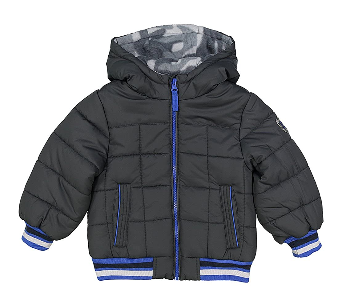 Osh Kosh Bgosh Little Boys Grey /& Blue Puffer Coat