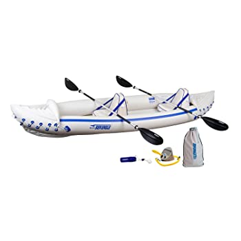 Sea Eagle SE370 Inflatable Kayak Pro Package