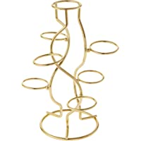 Bard's Gold-Toned Egg Stand/Holder, 7 Egg Display, 1.375