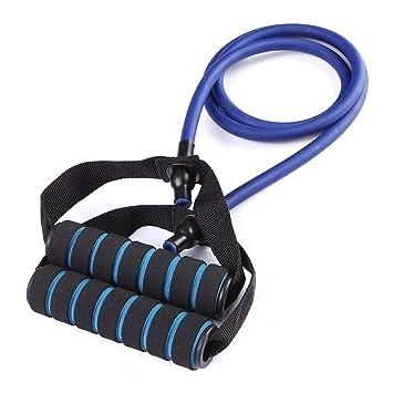 SUOLLL 120 cm Bandas de Resistencia elástica Yoga Cuerda de ...