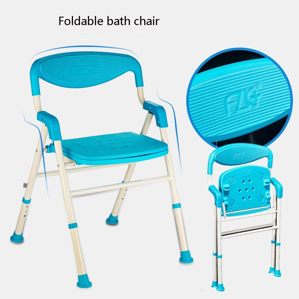 Shower chair Bath Chair Elderly Bathroom Folding Bath Chair Pregnant ...