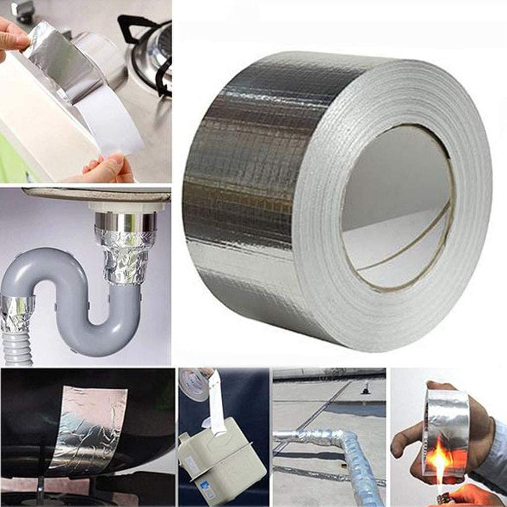 Strong-Tap The Aluminum Foil Tape WaterProof /& UV Resistant Cost-Effective Super