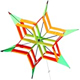 Hengda Kite-rainbow delta kite for Kids and Adults,with Colorful Rainbow Windsock