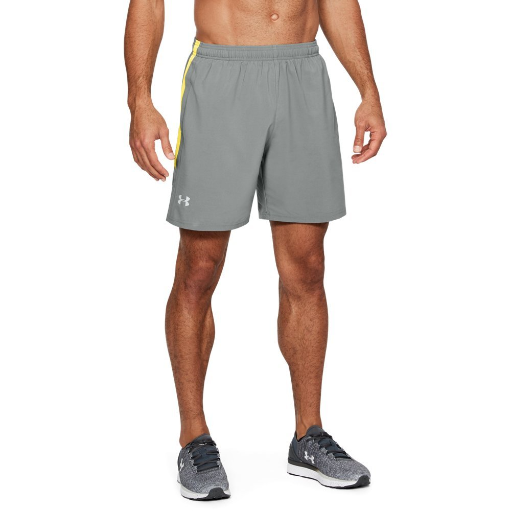 Under Armour Men's Launch Sw 7'' Shorts, Clay Green