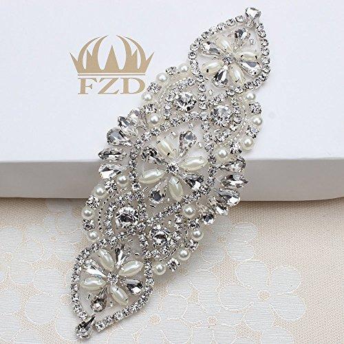 embellished belt for wedding dress - 6