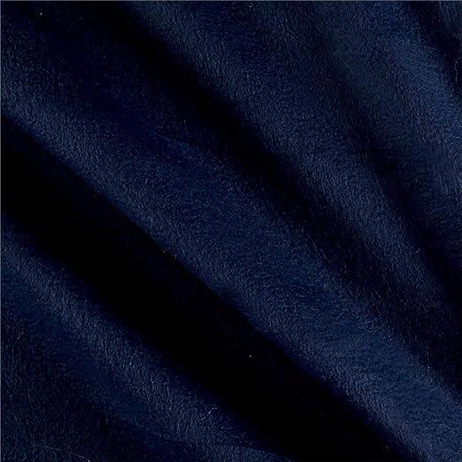 Newcastle Fabrics Polar Fleece Solid Black Fabric by The Yard,