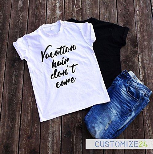 Amazoncom Vacation Hair Dont Care T Shirt Sarcasm Shirt