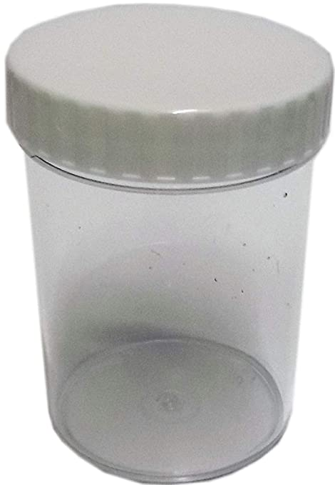980826be150 200ml Plastic Containers with screw Lids (Pack of 10)  Amazon.co.uk   Kitchen   Home
