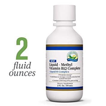 Amazon.com: Natures Sunshine Methyl B-12 Complete, Liquid ...