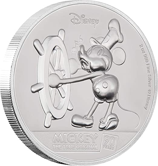 mickey mouse collectible coins