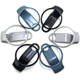 I-smileus Clip-Clasp for Misfit Flash (No Tracker or Replacement Bands, Clip Clasp Only) (6pcs of clip clasp)