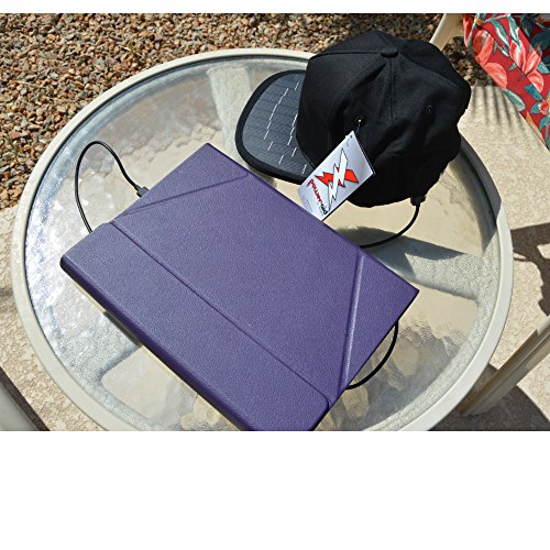 6d97e7e9e1c Solar Lids ReVolt Solar USB Charger Snapback Hat for Cell Phones and ...