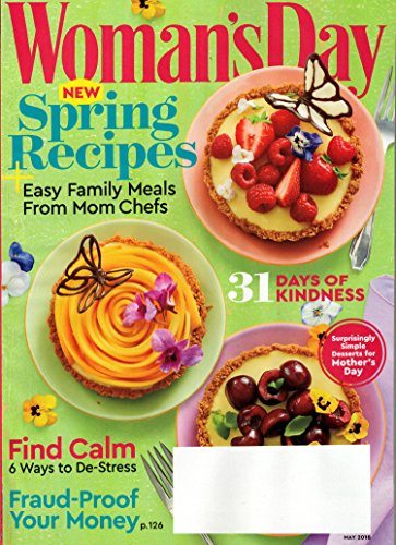 Woman's Day Magazine May 2018   Spring Recipes