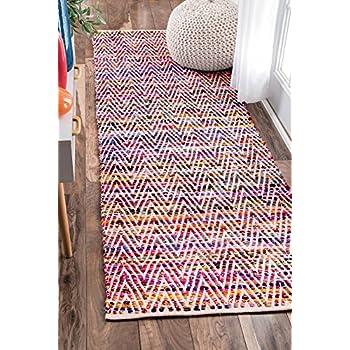 Amazon Com Hand Braided Tammara Multi Colored Area Rug