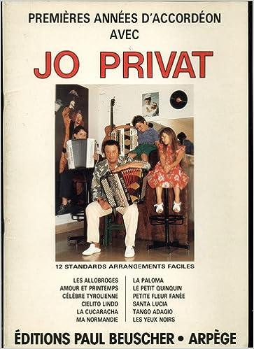 Jo Privat - Premieres Annees D'Accordeon Avec 12 Standards