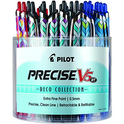 Pilot Pen Pilot Precise V5 RT Deco Collection Rolling Bal...