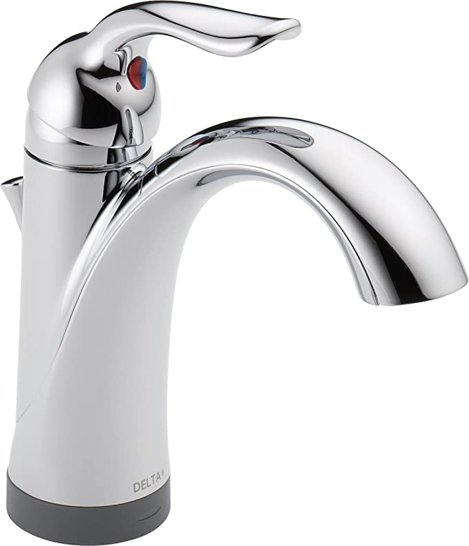 Delta 538T-DST Lahara Single Handle Bathroom Faucet with Touch2O.xt ...