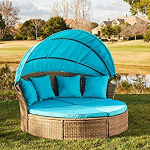 61J51sAOfiL._SS300_ 75+ Outdoor Wicker Daybeds For Your Patio For 2020