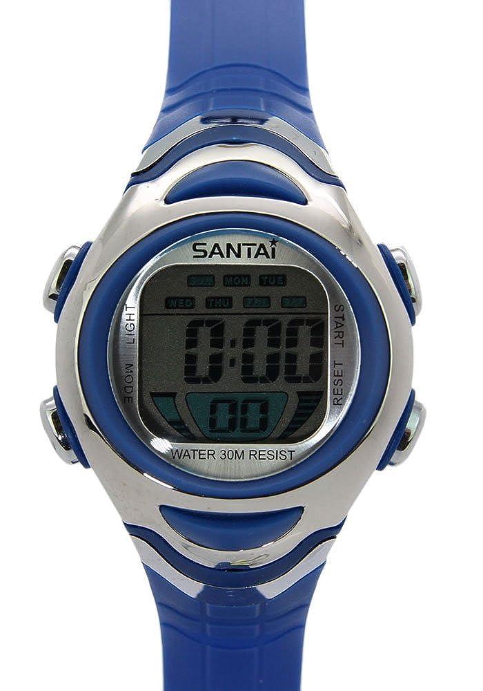 30M Santai Resistente al agua reloj digital deportivo de alarma: TimerMall Especialidad: Amazon.es: Relojes