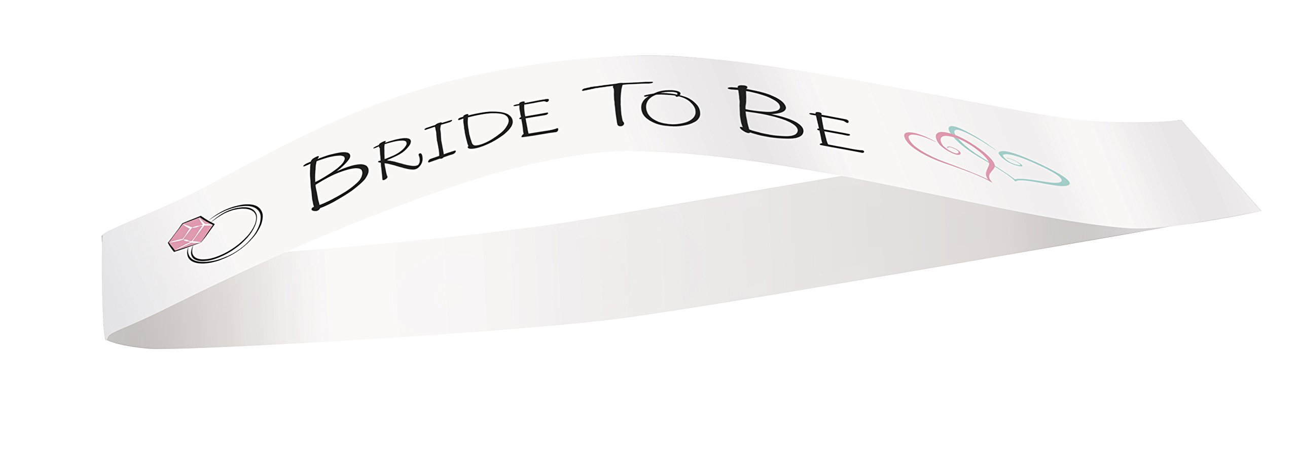 Ring Bride to Be Bachelorette Party Sash