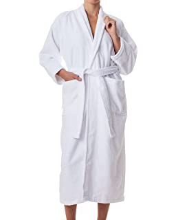 Unisex Terry Cloth Robe - 100% Long Staple Cotton Hotel Spa by  ExceptionalSheets 2acb3fbd5