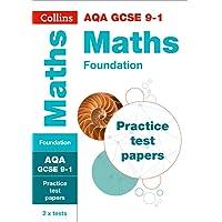 GCSE Maths Foundation AQA Practice Test Papers: GCSE Grade 9-1 (Collins GCSE 9-1 Revision)