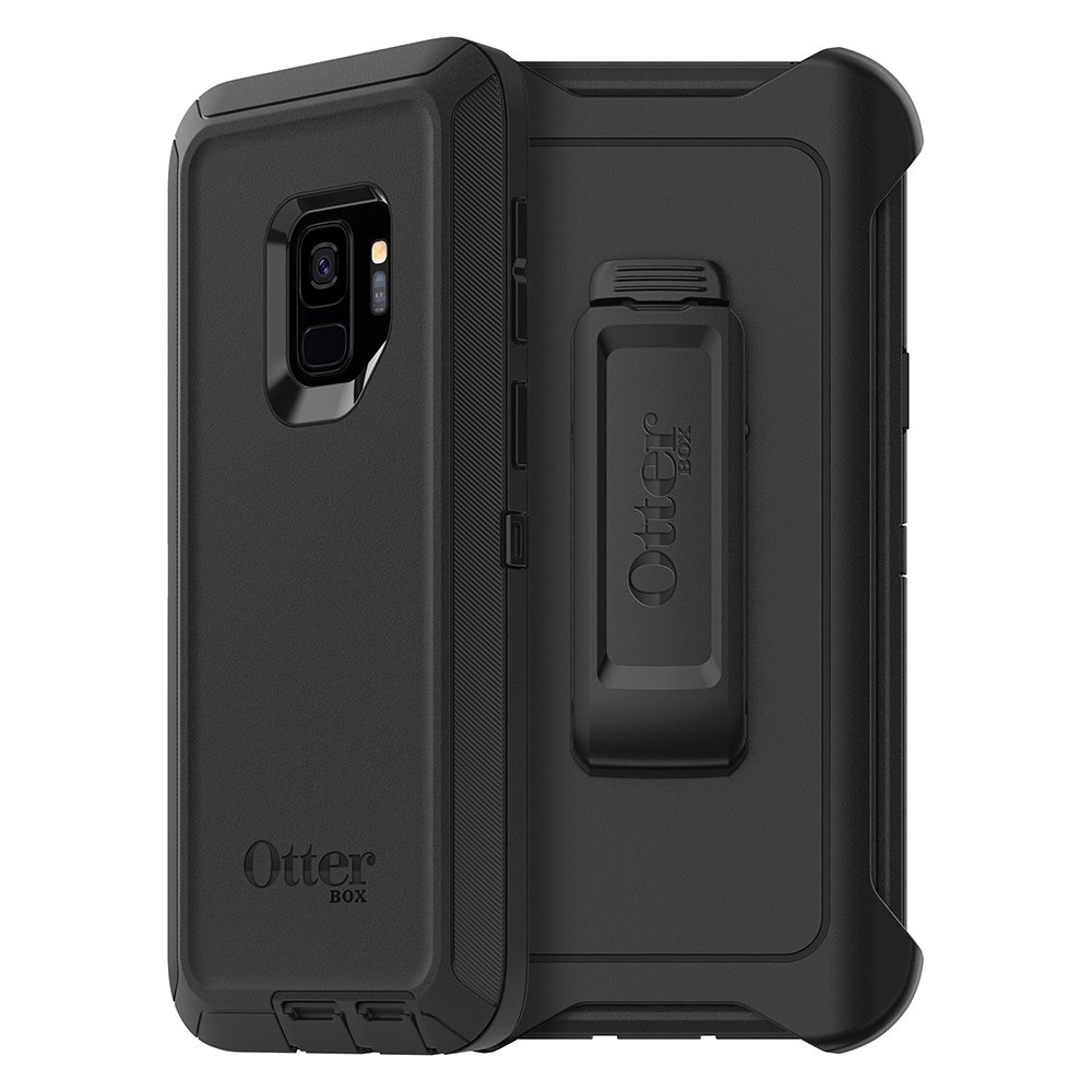 wholesale dealer b5edb 4f40e OtterBox Defender Series Case for Samsung Galaxy S9 - Frustration Free  Packaging - Black