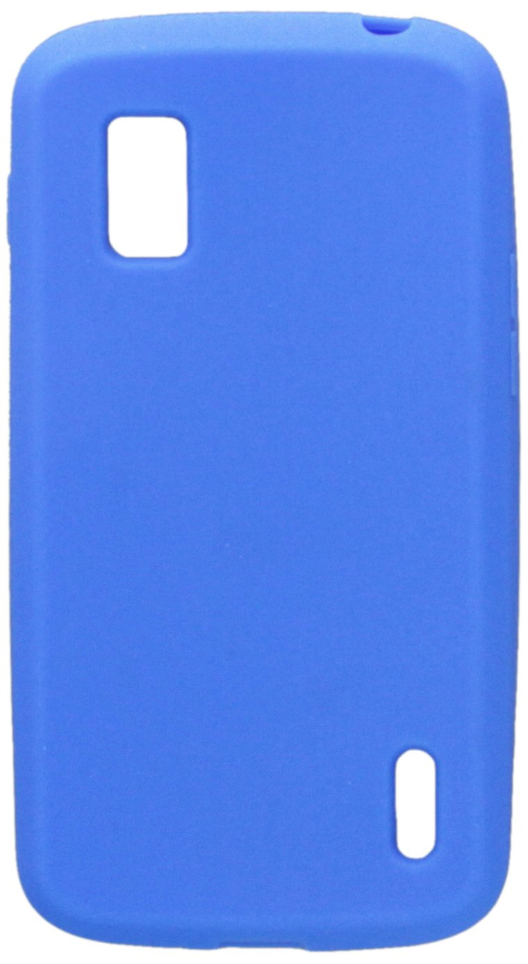 Asmyna LGE960CASKSO003 Slim and Soft Durable Protective Case for LG Nexus 4 E960 - 1 Pack - Retail Packaging - Dark Blue