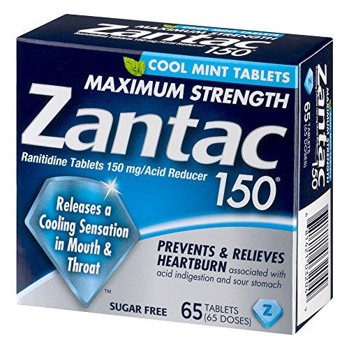 Zantac Maximum Strength Cool Tablets