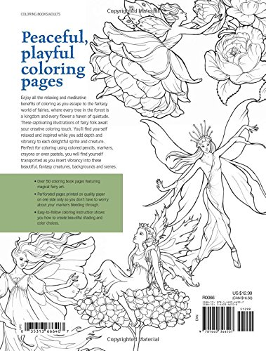 Fairy World Coloring Pages: Beautiful, Magical Mystical ...