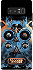 Cover For Samsung Galaxy Note8 - Owl Pattern