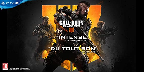 Call Of Duty Black OPS 4 : Playstation 4 , ML: Amazon.es: Videojuegos