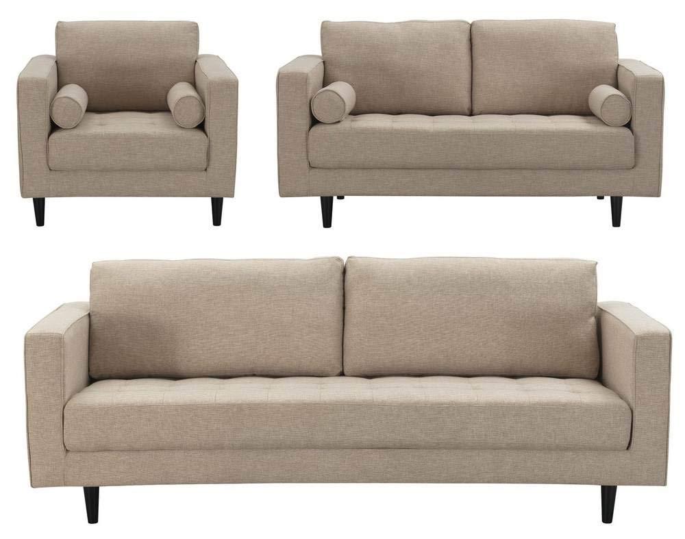 Amazon.com: Manhattan Comfort 3-98124HL4 Arthur Modern Tweed ...