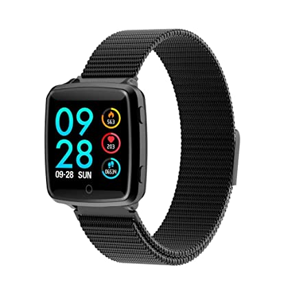 Amazon.com: Biback Smart Watch,Fitness Tracker with Heart ...