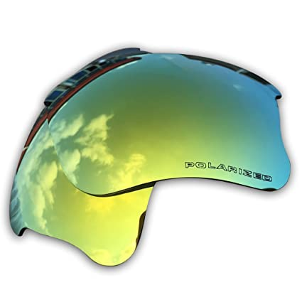Owants Replacement Lenses for Oakley Flak Jacket XLJ Sunglasses Frames -  Multiple Colors Availble (24K 2802bebe7b5e