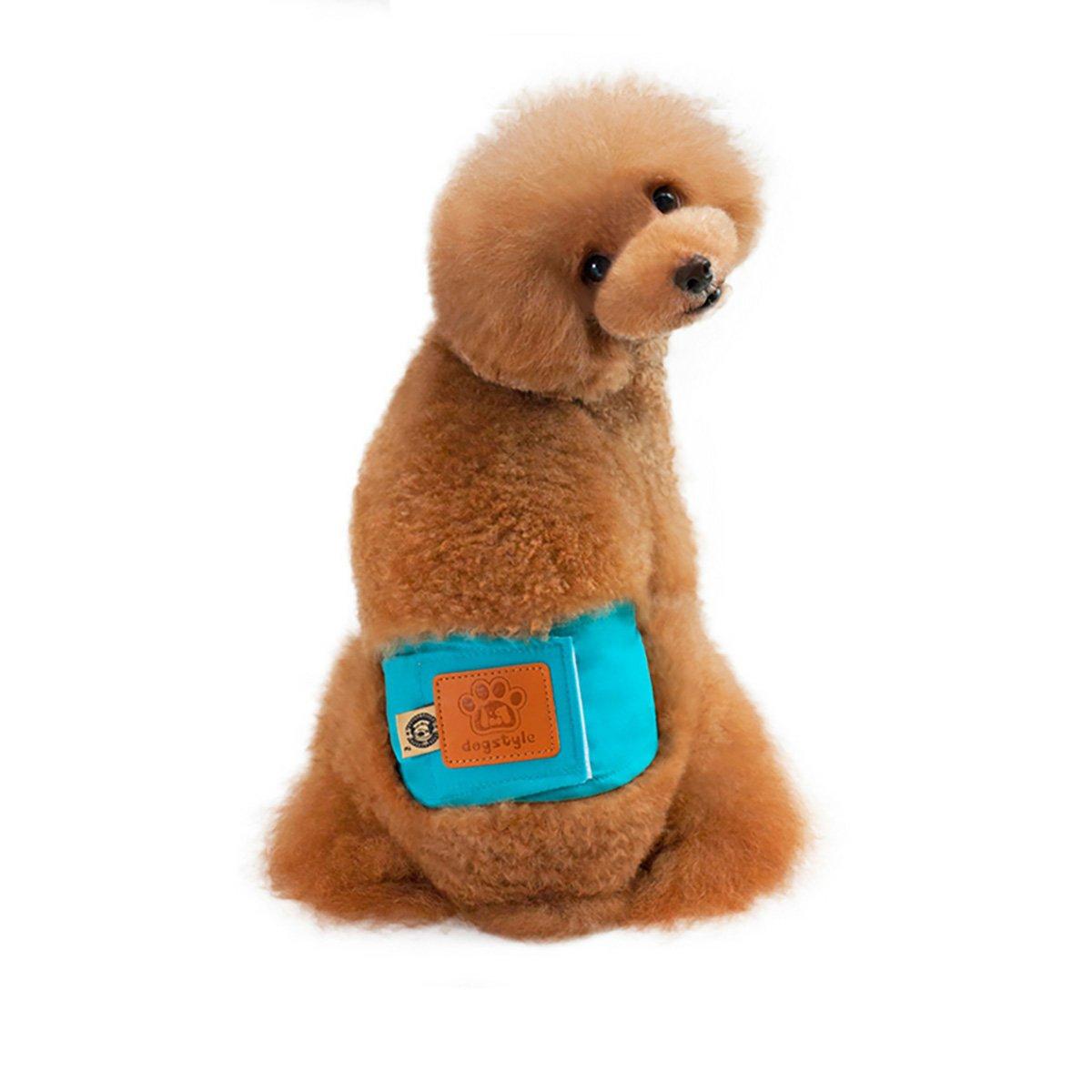 UHeng 4 PCS Male Dog Reusable Wrap Diaper Washable Puppy Belly Band by UHeng (Image #5)