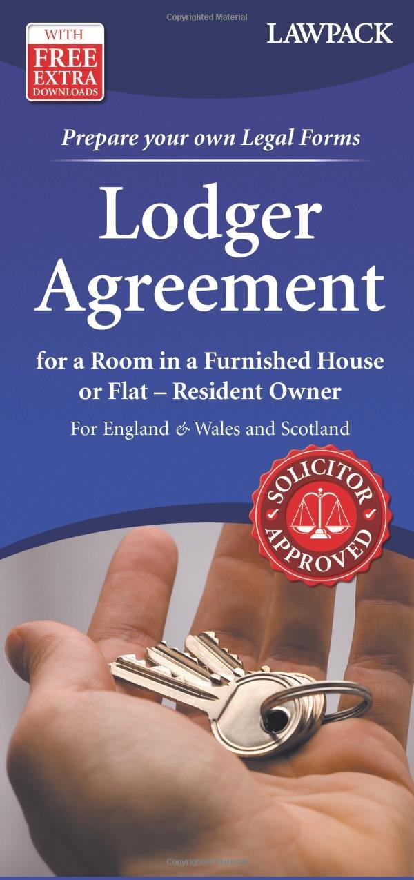 Lodger Agreement Amazon Lawpack 9781907765131 Books