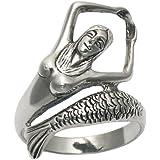 Sterling Silver Joyous Mermaid Ring