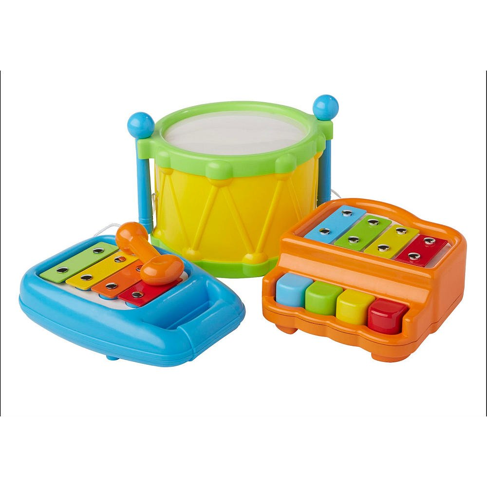 Bruin Infant Babies R Us 3 in 1 Musical Instrument Set by Toys R Us: Amazon.es: Bebé
