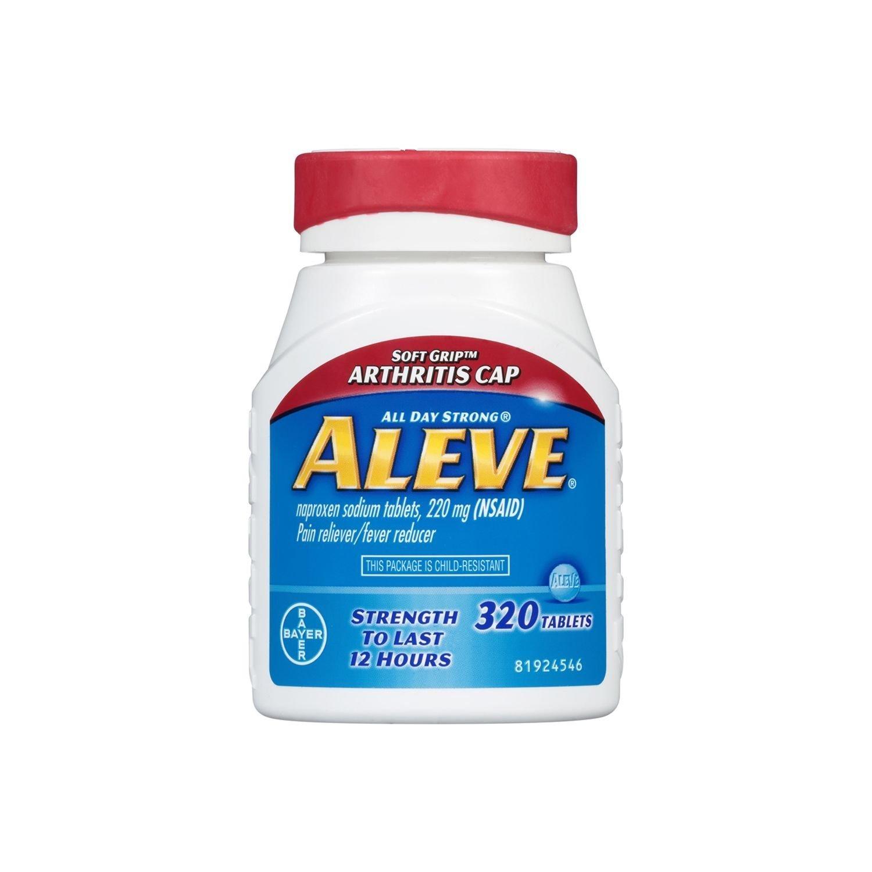 Aleve Pain Reliever Tablets, Arthritis Cap (320 ct.)